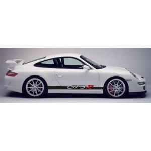 """画像1: Porsche 911用 """"GT3 R"""" ロゴ サイドステッカー"""