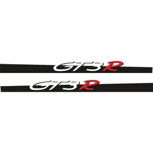 """画像2: Porsche 911用 """"GT3 R"""" ロゴ サイドステッカー"""