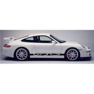 """画像1: Porsche 911用 """"GT3 CS"""" ロゴ サイドステッカー"""